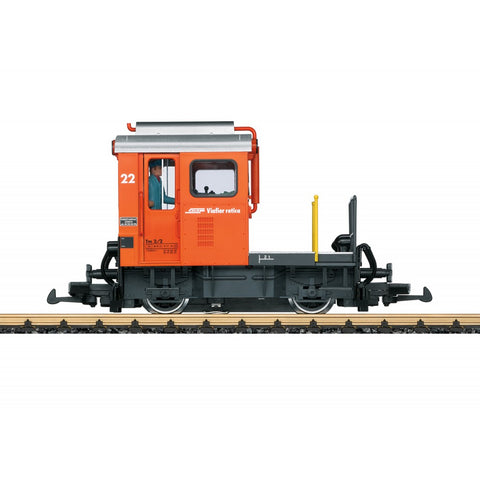 LGB 21411 G Rhaetian Railroad Switching Tractor Era VI Diesel Locomotive