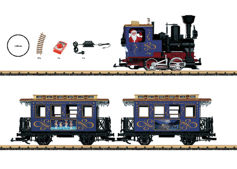 LGB 70305 G Christmas Train Starter Set