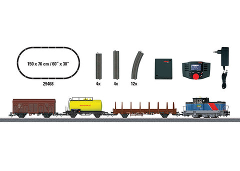 "Marklin 29468 HO ""Era VI Swedish Freight Train"" Digital Starter Set"