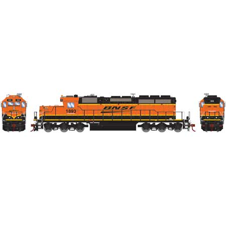 Athearn 71644 HO RTR SD39-2 w/DCC & Sound, BNSF/Wedge #1893