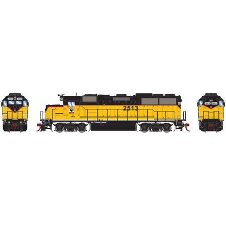 Athearn G65799 HO GP50 w/DCC & Sound, Dakota & Iowa Ry #2513