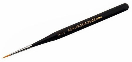 Atlas Brush 255-5 5/0 Taklon ultra mini brush