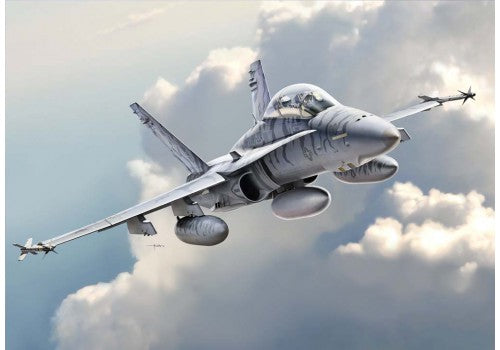 Kinetic Model 48033 1:48 F/A-18D ATARS Aircraft Plastic Model Kit