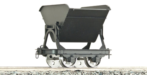 Accucraft B4753 7/8ths Brass Tipper Wagon without Brake in Black