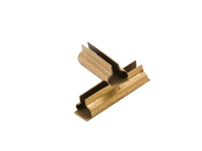 Accucraft G201-91 Brass Rail Joiner, Code 332 (Set of 12)