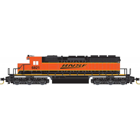 MicroTrains 97001291 Z Burlington Northern Santa Fe SD40-2 Diesel Loco #6821