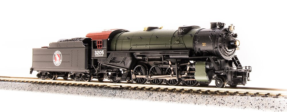 Broadway Limited 5707 N Great Northern USRA Heavy Mikado Steam Loco Sound #3206