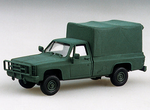 Trident Miniatures 90005 HO M1008 Cargo Carrier w/ Canvas Cover Military