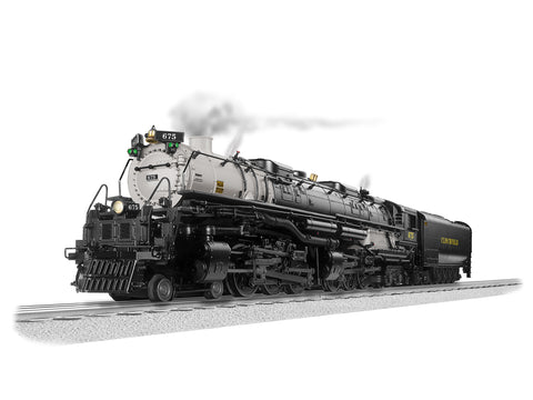 Lionel 1931210 O Clinchfield BTO Vision Challenger Steam LCS with BT #675