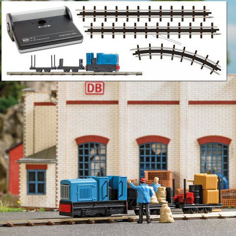 Busch 12013 Narrow Gauge Feldbahn Transport Starter Set