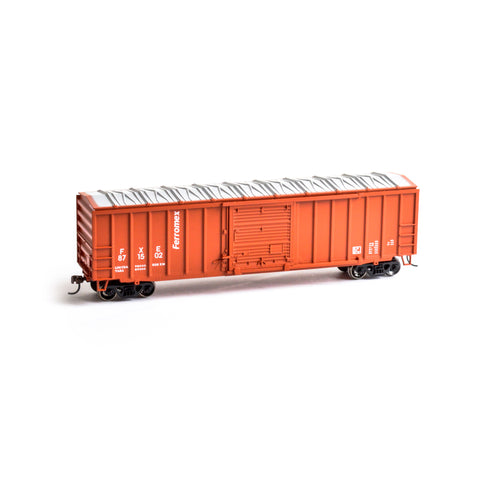 Roundhouse 14826 HO Ferromex 50' ACF Outside Post Boxcar #871502