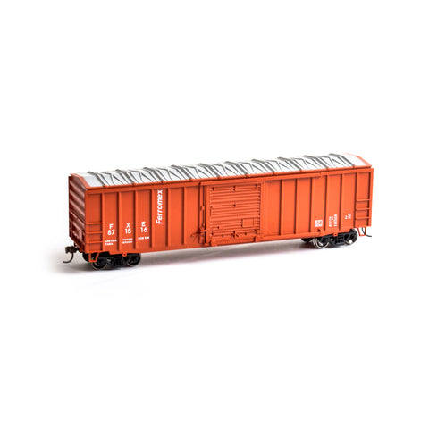 Roundhouse 14827 HO Ferromex 50' ACF Outside Post Boxcar #871516