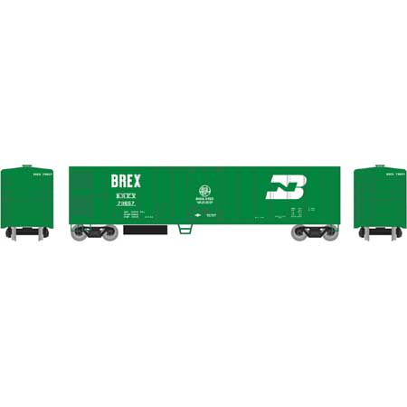 Roundhouse 71668 HO BREX 50' Smooth Side Mechanical Reefer #79657