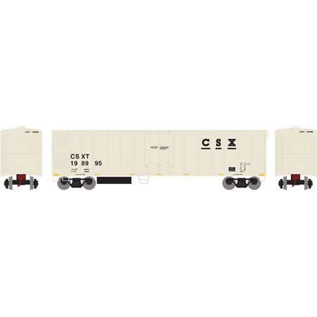 Roundhouse 72900 HO CSX 50' Smooth Side Mechanical Reefer #198995
