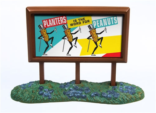 Classic Metal Works 21002 N Planters Peanuts 1950's Country Billboard