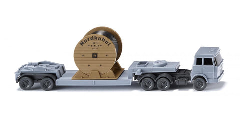 "Wiking 094939 N/1:160 Hanomag Henschel ""Nordkabel"" Low Loader Semi Trailer"