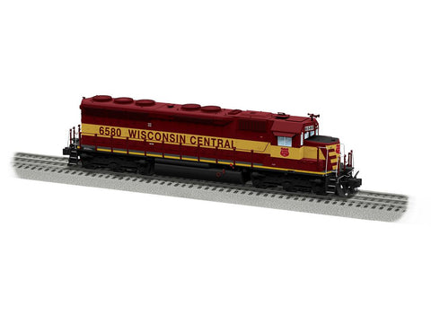 Lionel 6-85043 O Wisconsin Central Legacy SD45 Diesel Locomotive #6580