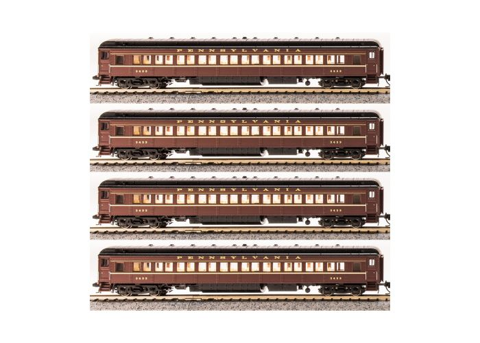 Broadway Limited 3761 N Pennsylvania P70 Passenger Cars (Pack of 4)