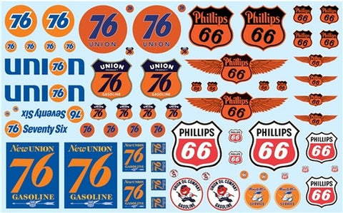 AMT 032 1:24-1:25  Phillips 66 & Union 76 Decals