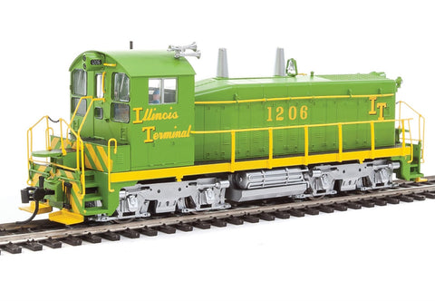 Walthers 920-41441 HO Illinois Terminal EMD SW1200 Diesel Locomotive DCC #1206