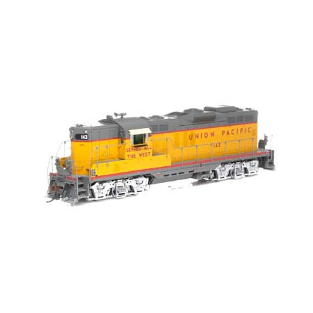 Athearn G78200 HO Union Pacific GP9 Diesel Locomotive with DCC and Sound #143