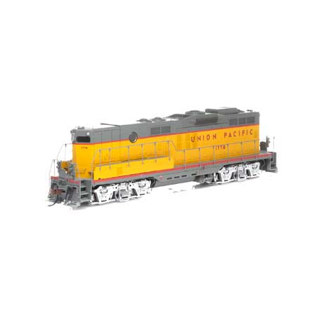 Athearn G78206 HO Union Pacific GP9B Diesel Locomotive with DCC and Sound #177B