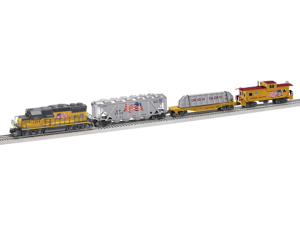 Lionel 1923110 O Union Pacific America Proud GP38 LionChief Set with Bluetooth