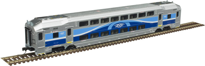 Atlas 50004404 N Amtrak Multi-Level Trailers #3151