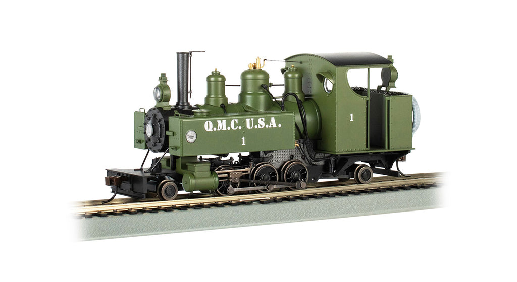 Bachmann 29504 On30 Quickmaster Corps 2-6-2T Baldwin Steam Loco DCC #1