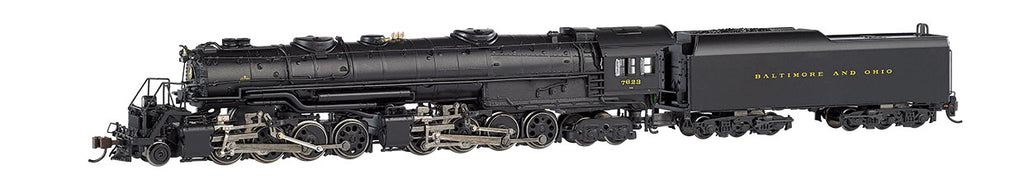 Bachmann 80853 N Baltimore & Ohio EM-1 2-8-8-4 Steam Locomotive DCC Sound #7623