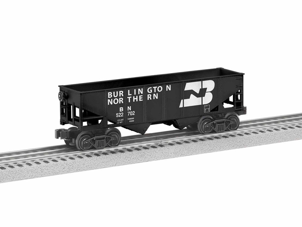 Lionel 1928110 O Burlington Northern Hopper (Pack of 6)