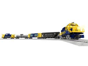 Lionel 2023150 Alaska LionChief O Gauge Diesel Freight Starter Train Set