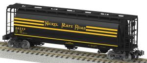American Flyer 6-48669 S Scale Nickel Plate Road Norfolk Southern Heritage Cylindrical Hopper