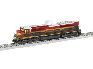 Lionel 6-85053 O Kansas City Southern Legacy SD70ACe Diesel Locomotive #4156
