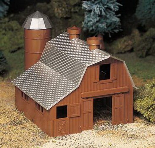 Bachmann 45602 O Plasticville Dairy Barn Classic Classic Building Kit