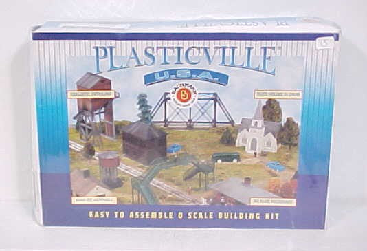 Bachmann 45985 O Plasticville Airport Terminal Classic Building Kit