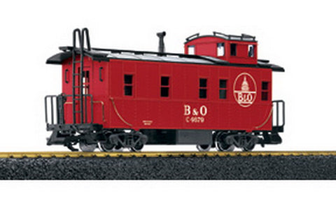 LGB 46790 Baltimore & Ohio Caboose Metal Wheels