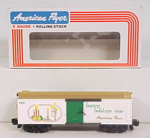 American Flyer 6-48309 Holiday Greetings Boxcar 1990