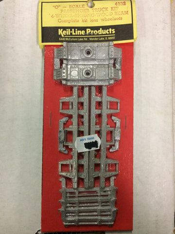 Keil-Line Products 4832 O Passenger Truck Kit without wheelsets