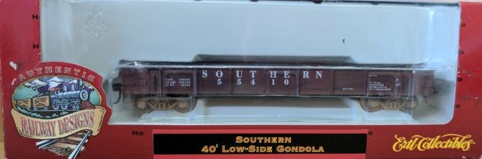 Ertl 4982 HO Scale Southern 40' Low Side Gondola
