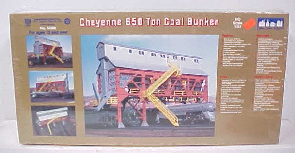 IHC 5000 HO Cheyenne Coal Bunker Kit – Trainz