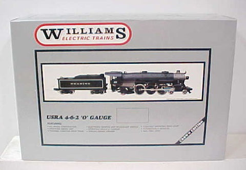 Williams 5006 Brass USRA Erie 4-6-2 Steam Engine & Tender #2936