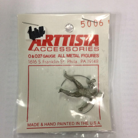 Arttista 5006 Circus Lion Tamer Pewter Figure Unpainted