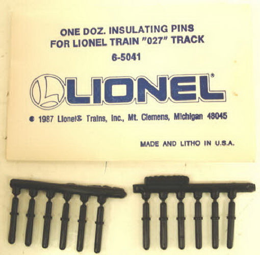 Lionel 6-65041 O27 Insulator Pins  (Pack of 12)