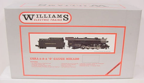 Williams 5104 BRASS Southern 2-8-2 Mikado Steam Loco and Tender