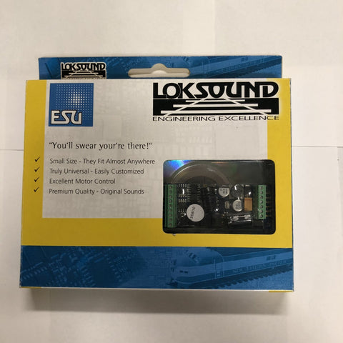 LokSound By ESU 51702 LokPilot XL Powerpack