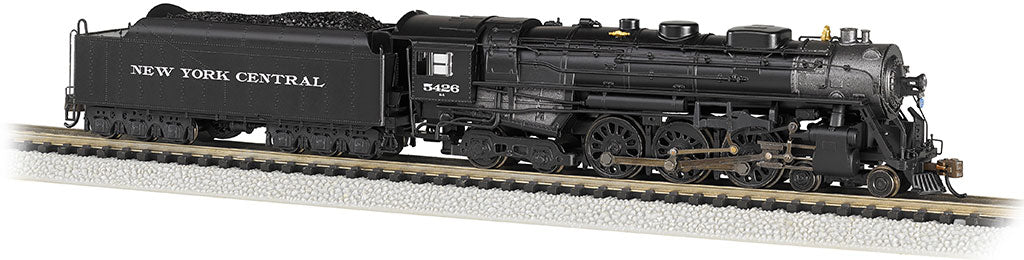 Bachmann 53653 N New York Central 4-6-4 Hudson Steam Locomotive #5426