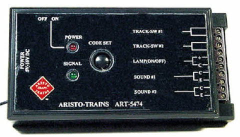 Aristo-Craft 5474 Remote Accessory Receiver