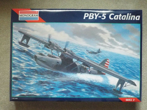 Monogram 5609 PBY-5 Catalina Building Kit
