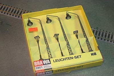 Brawa 5901 HO Scale Street Lamp Set